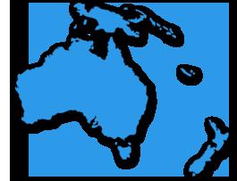 Paketversand mit Packlink.de nach Ozeanien