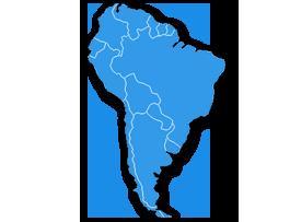 Envois en Amérique du Sud, envoyer des colis avec Packlink