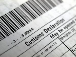 Droit de douane