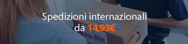 prezzi spedizioni internazionali